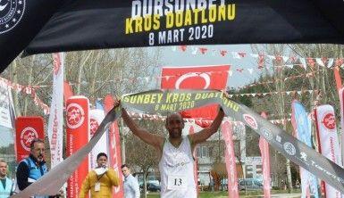 Dursunbey Kros Duatlon yarışları nefes kesti