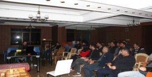 Türkeli'de e-fatura bilgilendirme toplantısı