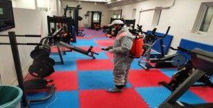 Kızıltepe Belediyesi dezenfekte çalışmalarını sürdürüyor