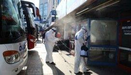 15 Temmuz Demokrasi Otogarı koronavirüse karşı dezenfekte edildi