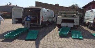 Manisa Büyükşehir Belediyesinin birimleri dezenfekte edildi