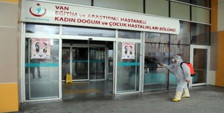 Van Büyükşehir Belediyesinden dezenfekte çalışması