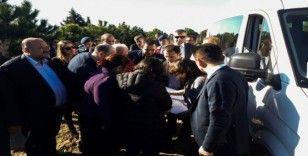Bilirkişi heyeti, OSB'nin yapılması planlanan köyde inceleme yaptı