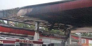 Bilecik'teki akaryakıt istasyonu yangını