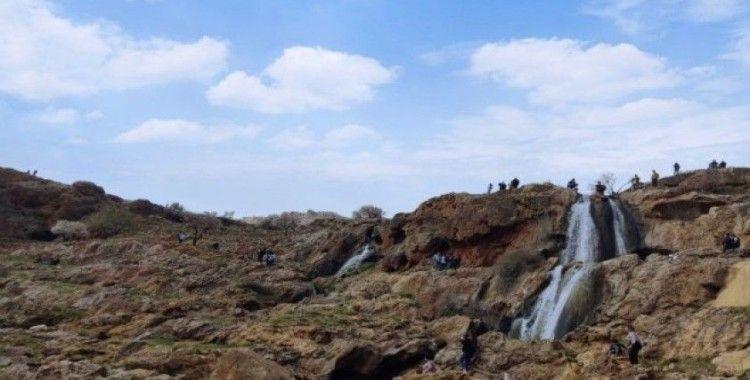 Gap Şelalesi Tabiat Parkına turist akını
