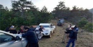 Kaçak avcılar yakalandı