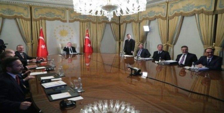 Cumhurbaşkanı Erdoğan'dan 4'lü zirve açıklaması