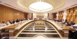 ATO'da virüs tedbirli toplantı