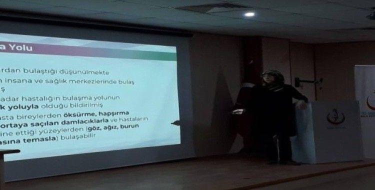 Korona virüs bilgilendirme eğitimi