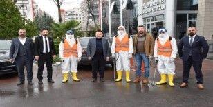 Bağlar Belediyesi'nden korona virüs için özel ekip