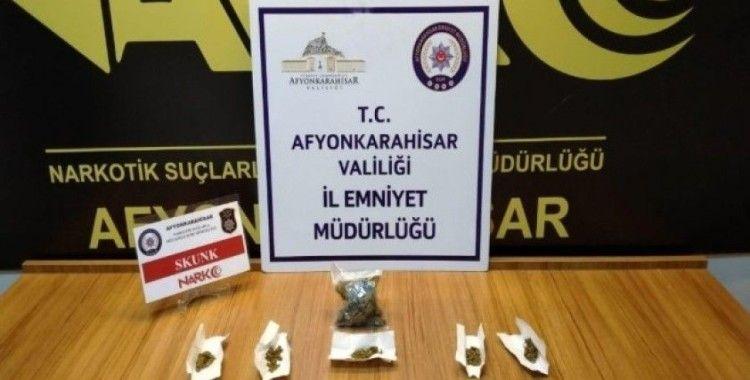 Üzerinde uyuşturucu madde çıkan kişi tutuklandı