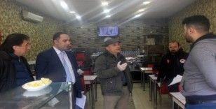 Türkeli'de gıda işletmeleri korona virüsü tehdidine karşı uyarıldı