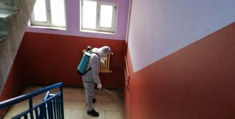 Dicle'de okullar dezenfekte edildi