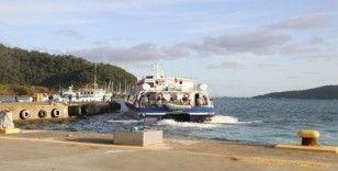 Marmaris-Rodos feribot seferleri geçici süre durduruldu