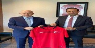 Yeni Malatyaspor'dan TFF Başkanı Özdemir'e ziyaret