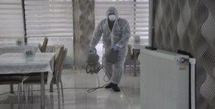 Şuhut'ta restoran ve lokantalarda korona virüs önlemi