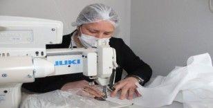 Muğla'da maske üretimi başladı