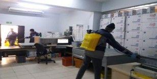 Besni'de dezenfekte çalışmaları devam ediyor
