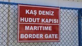 Kaş-Meis Adası deniz seferleri durduruldu