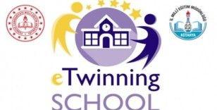 Kütahya'da 7 okula daha eTwinning School etiketi