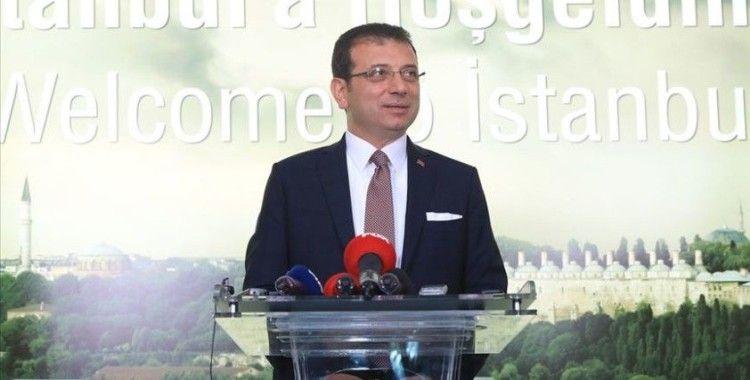 İmamoğlu: 'İstanbul'un çeşitli noktalarına 100 adet dezenfekte istasyonu kuruyoruz'