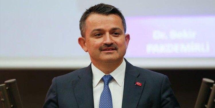 Pakdemirli: 'Üreticilerimize 1 milyar 572 milyon 500 bin lira ödeme yapacağız'