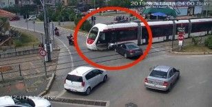 Tramvay kazaları kamerada