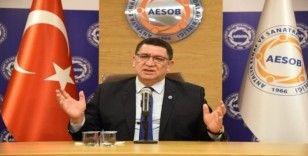 """AESOB Başkanı Dere: """"Ayakta kalabilmek için pakete ek taleplerimiz var"""""""