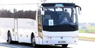 Yurt dışından gelen yolcular Kırklareli'nde öğrenci yurtlarına yerleştirildi