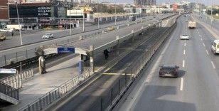 İstanbul'da trafik yoğunluğu tarihi değeri gördü