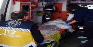 Komşuların yangında ölümden kurtardığı kadın hayatını kaybetti