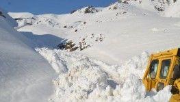 Şırnak'ta karla mücadele çalışmaları sürüyor