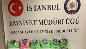 İstanbul'da uyuşturucu hap operasyonu