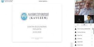 Kayseri Üniversitesi Uzaktan Öğretime Hazır