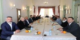 """Başkan Yücel'den Oda Başkanlarıyla """"Korona"""" toplantısı"""
