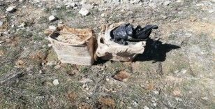Bitlis'te köy yoluna tuzaklanmış 60 kilogram EYP ele geçirildi