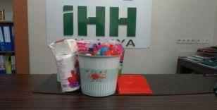 Memur-Sen'den 'Acil hijyen paketi' kampanyasına destek