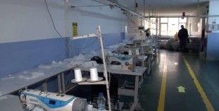 Koronavirüs fırsatçılarına baskın: 1 milyon sahte maske ele geçirildi