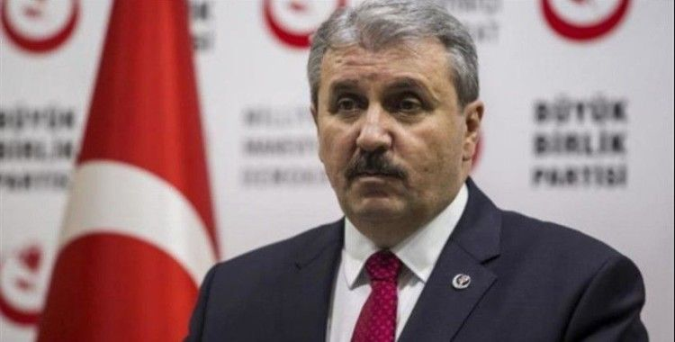 Merhum Muhsin Yazıcıoğlu için BBP Lideri Destici'den açıklama