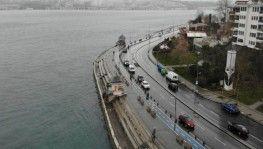 İstanbul'da koronavirüs sessizliği havadan görüntülendi