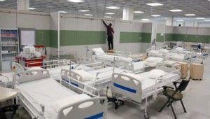 İran, dünyanın en büyük AVM'sini korona hastanesine çevirdi