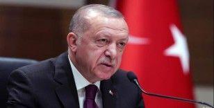Cumhurbaşkanı Erdoğan: 'Biz güçlü bir milletiz, hep birlikte başaracağız'