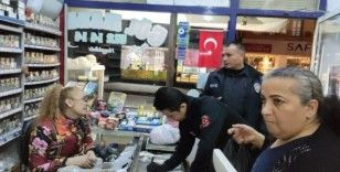 Samandağ'da marketlere korona virüs tebligatı