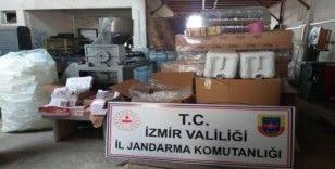 İzmir'de sahte dezenfektan üretenlere darbe