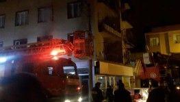 Bursa'da yangın mahalleliyi sokağa döktü