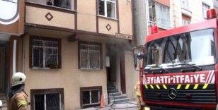 (Özel) Baca yüzünden yangın çıktı, apartman sakinleri kavga etti