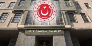 MSB: 'Haftanin bölgesinde 8 PKK'lı terörist etkisiz hale getirildi'