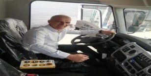 Başkan Altıkulaç, Vidanjör Kuka aracını teslim aldı