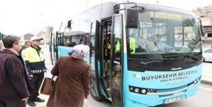 Toplu taşımada korona virüs önlemi