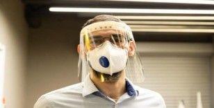 """10 bin adet """"şeffaf maske siperi"""" üretilecek"""
